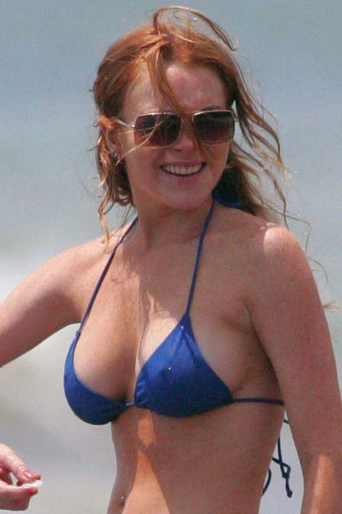 lindsay lohan bikini 2