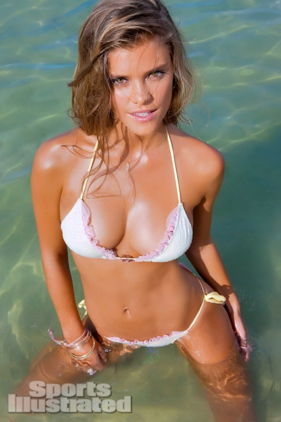 Nina Agdal SI 2013 Body Paint and Swimsuit Issue
