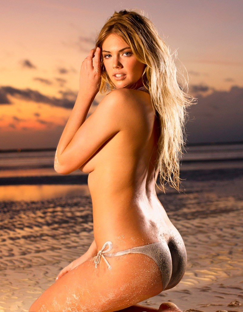 kate upton body paint
