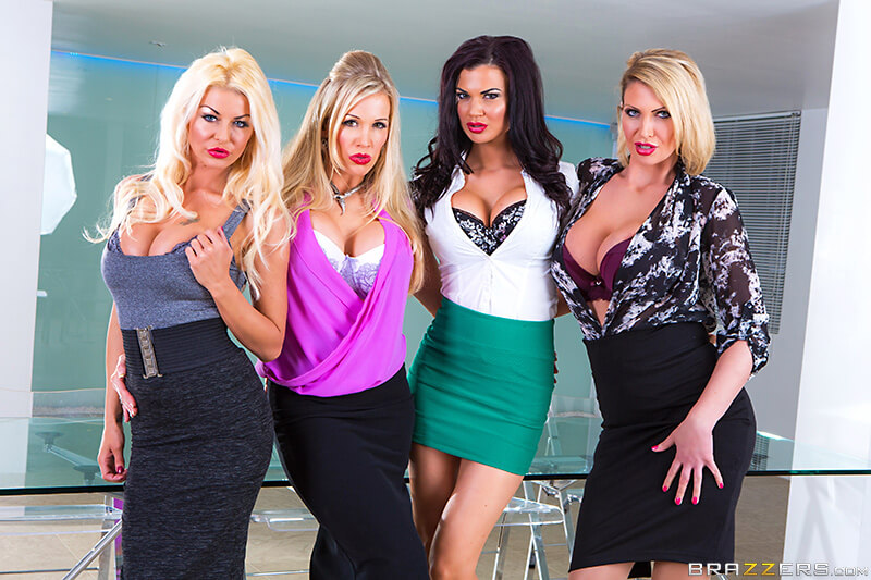Rebecca Moore, Tia Layne, Jasmine Jae and Leigh Darby