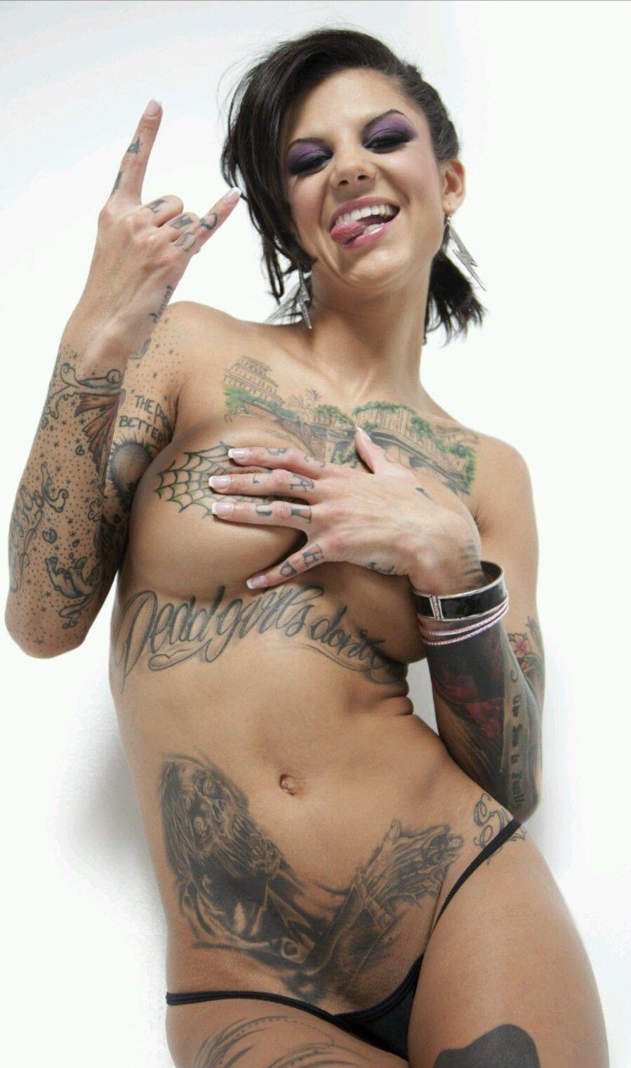 Bonnie Rotten Tattoo Poster