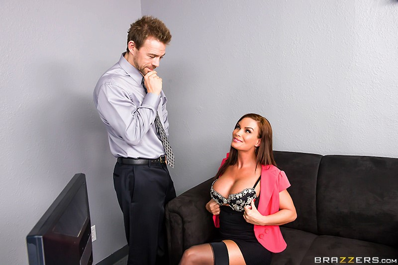 Diamond Foxxx and Erik Everhard