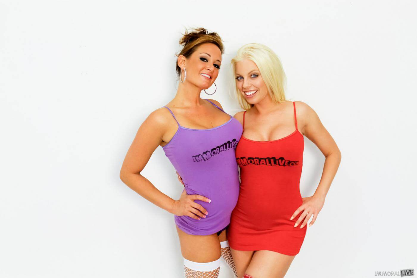 Tory Lane and Britney Amber