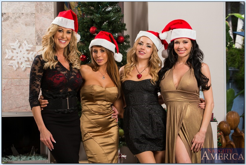 Brandi Love, Lexi Belle, Madison Ivy and Veronica Avluv