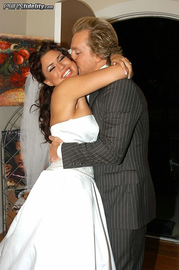 Eva Angelina and her Husband