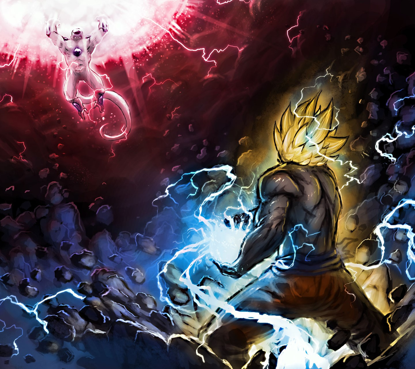 Goku Vs Frieza wallpaper 9338404