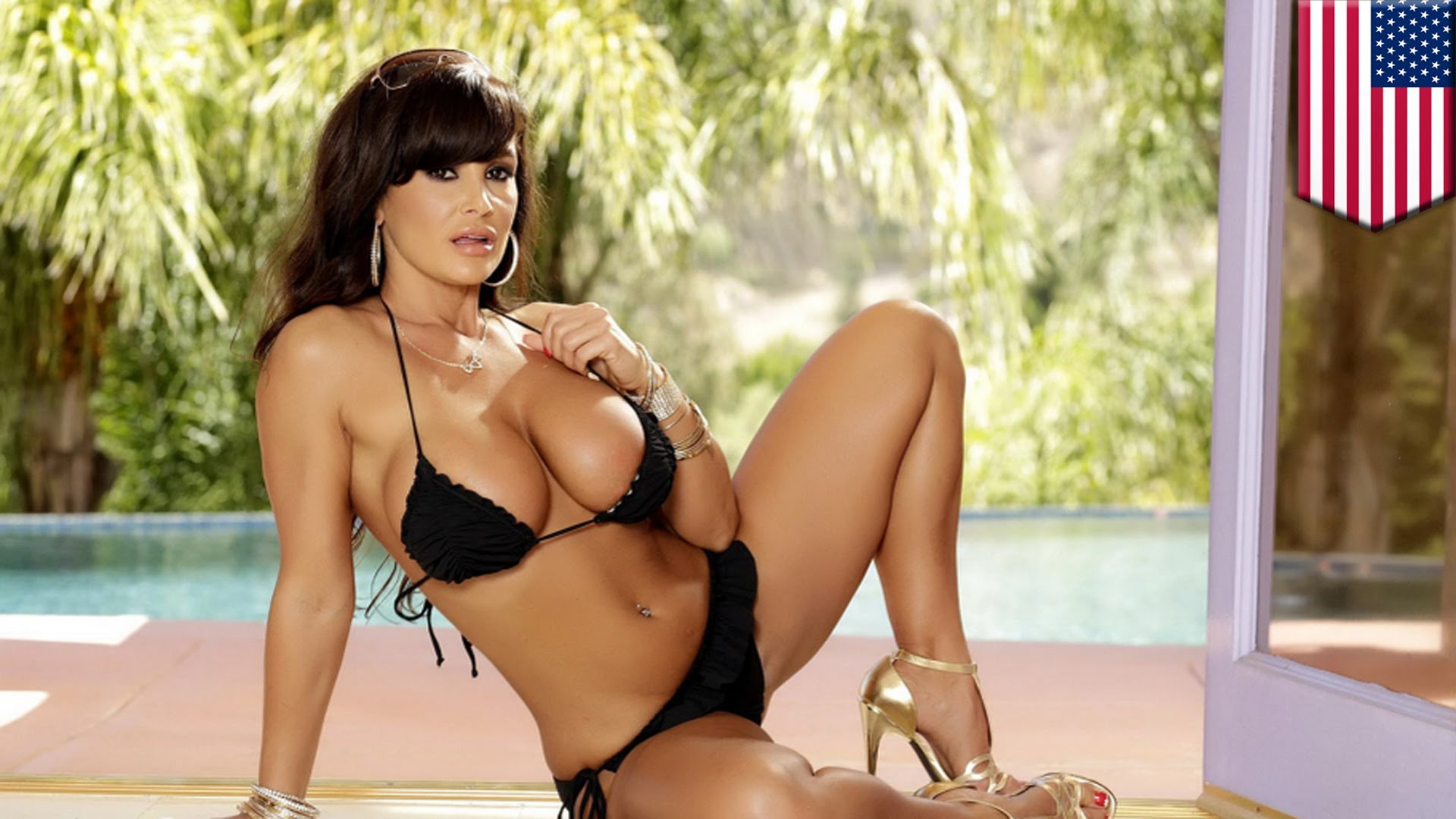 Lisa Ann Bikini Wallpapers