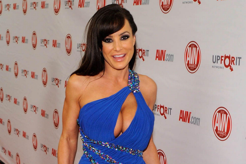 Lisa Ann Blue Dress 2