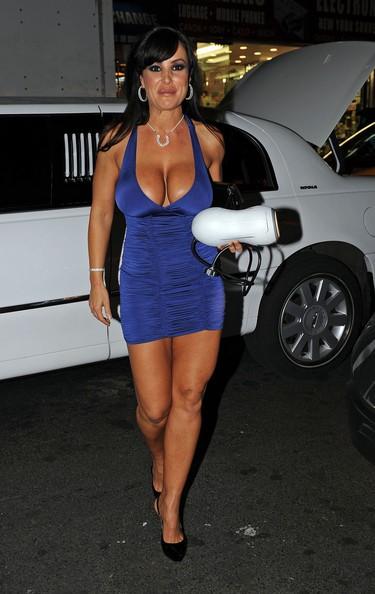 Lisa Ann Blue Dress 3
