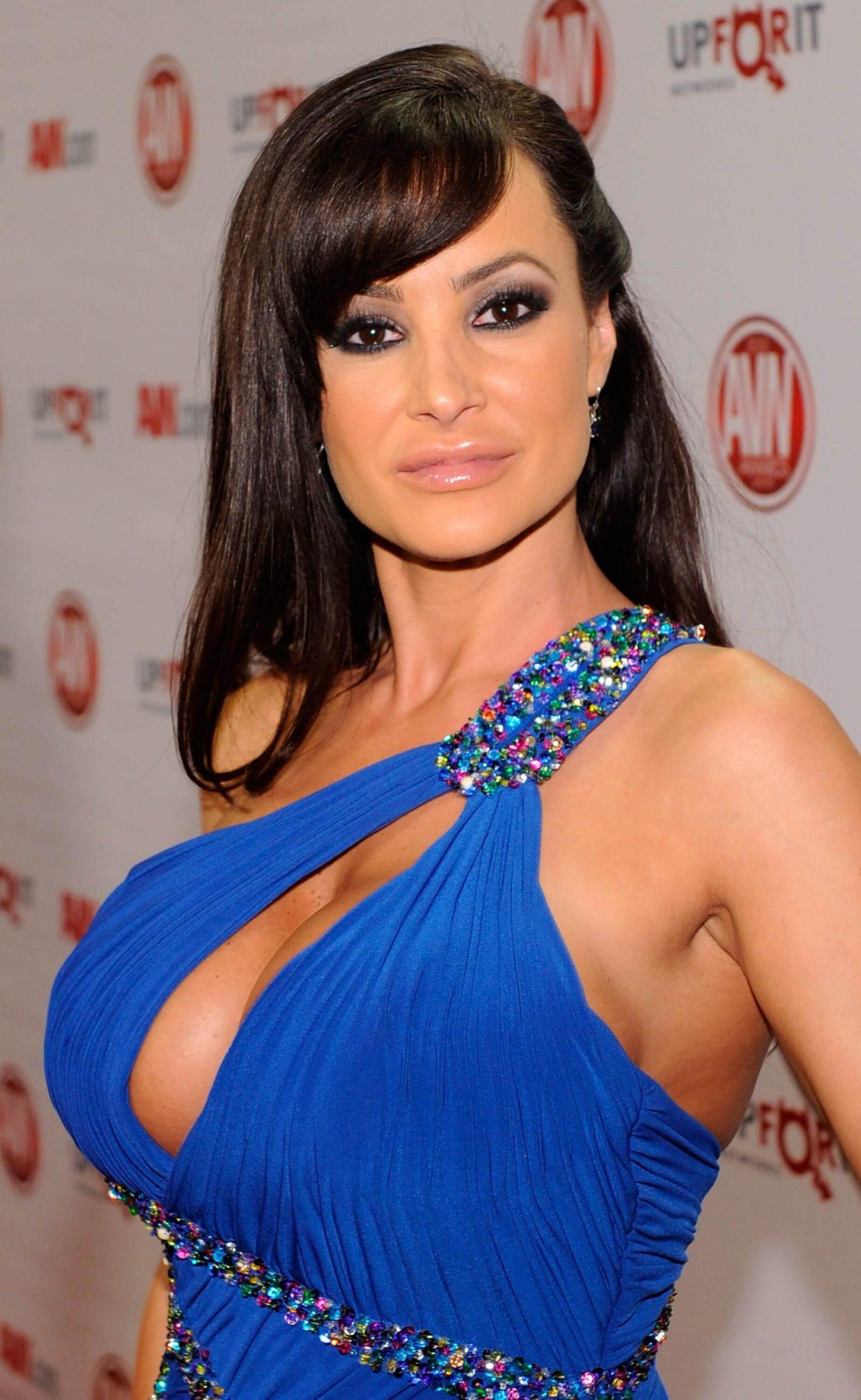 Lisa Ann Blue Dress