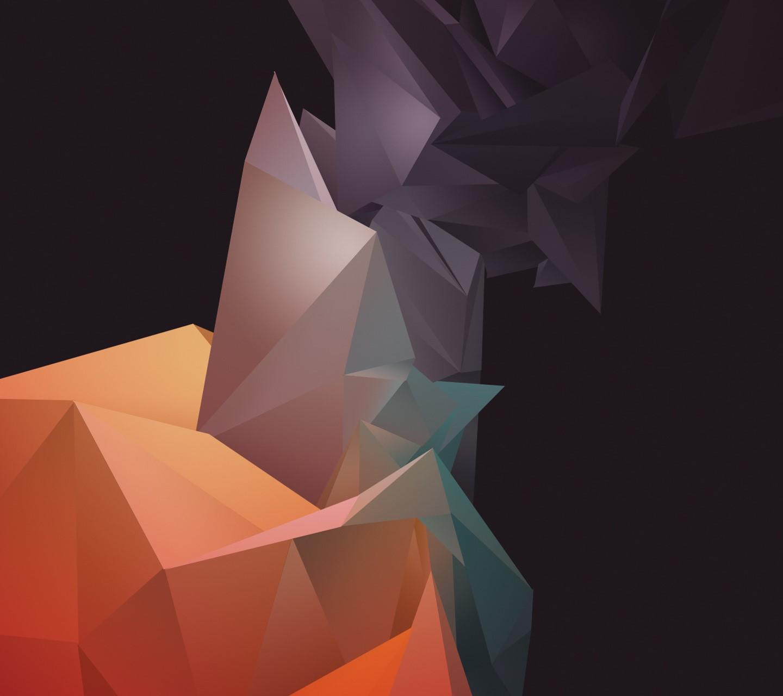 Polygon Wave wallpaper 10332929