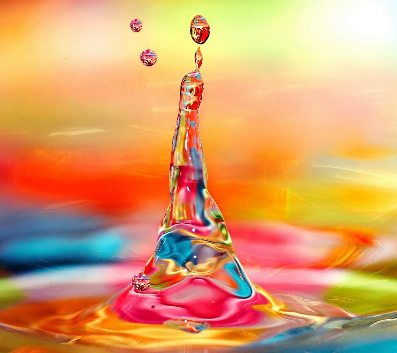 Rainbow Splash wallpaper 10039281