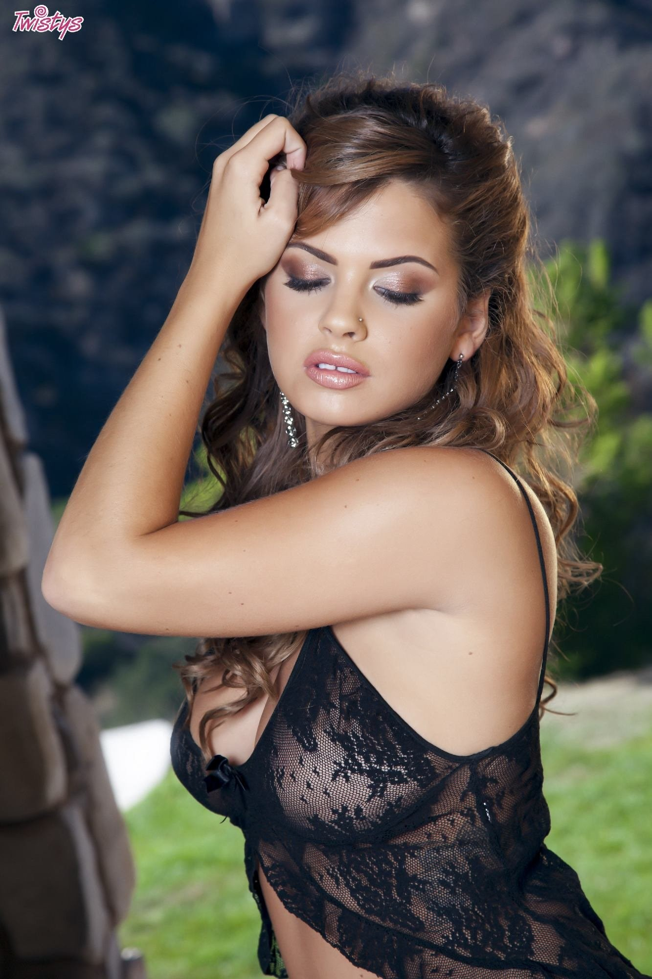 Sweet Keisha Grey gets one cock in the throat and another in the ass  1938464