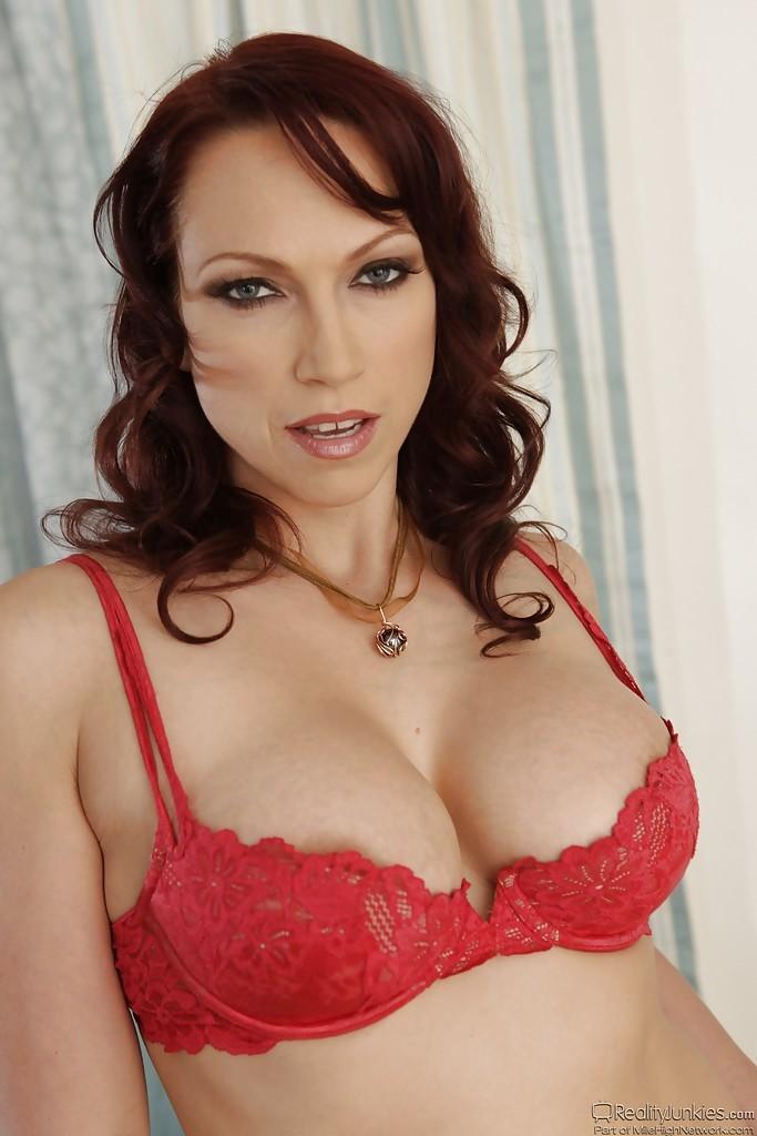 Nicki Hunter Red Lingerie