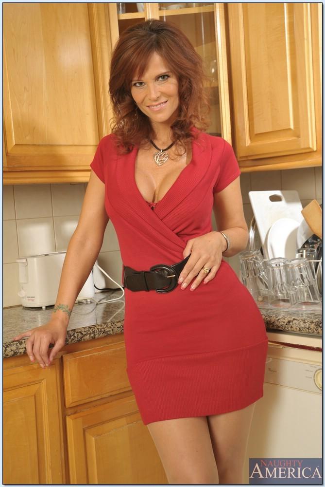 Syren De Mer Red Dress