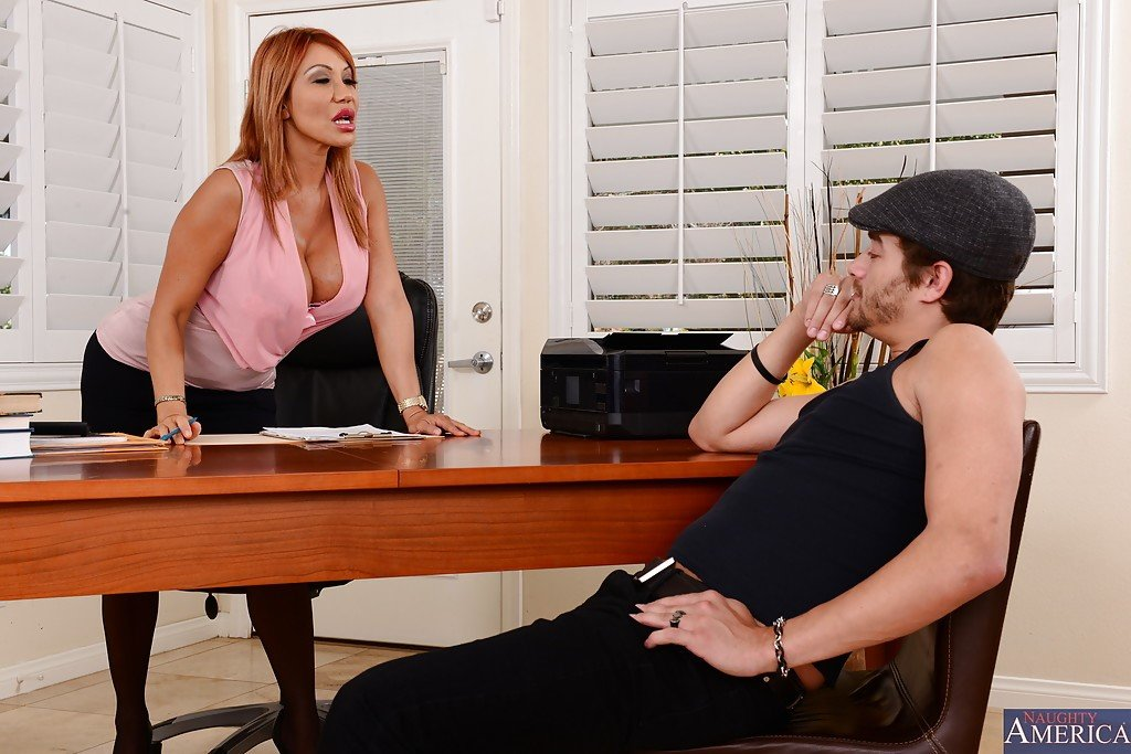 Ava Devine and Xander Corvus