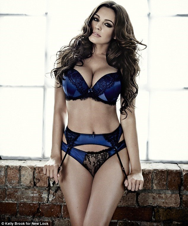Kelly Brook Lingerie 2