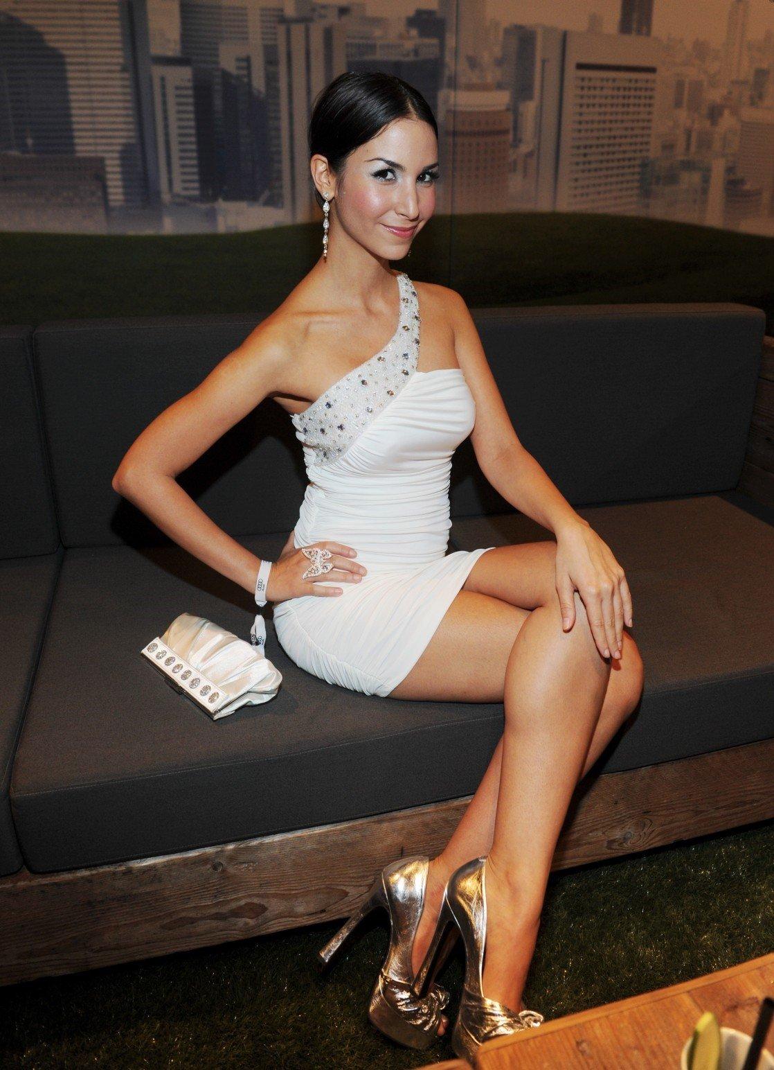 Sila Sahin White Dress 4