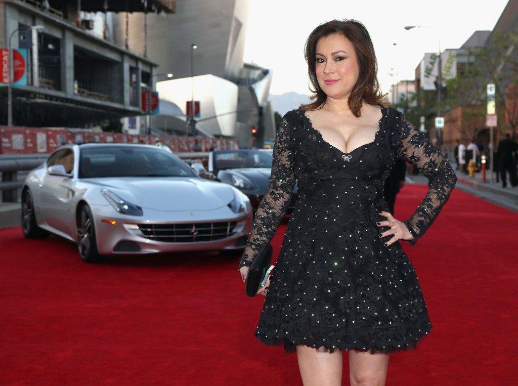 Jennifer Tilly Black Dress