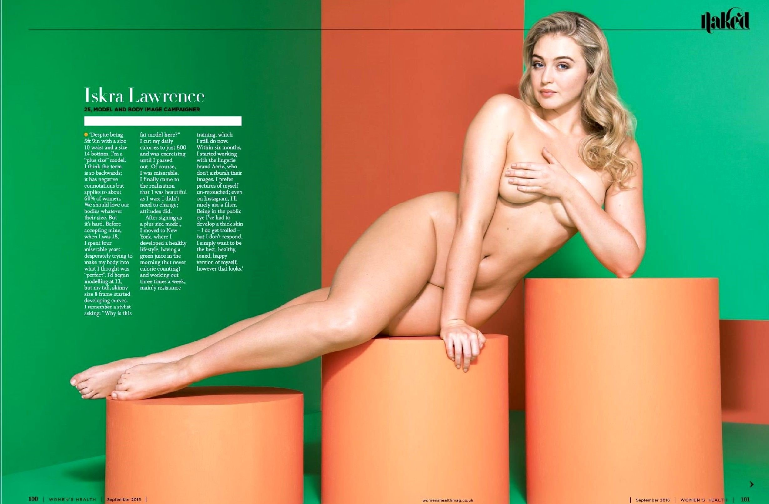 Iskra Lawrence Nude