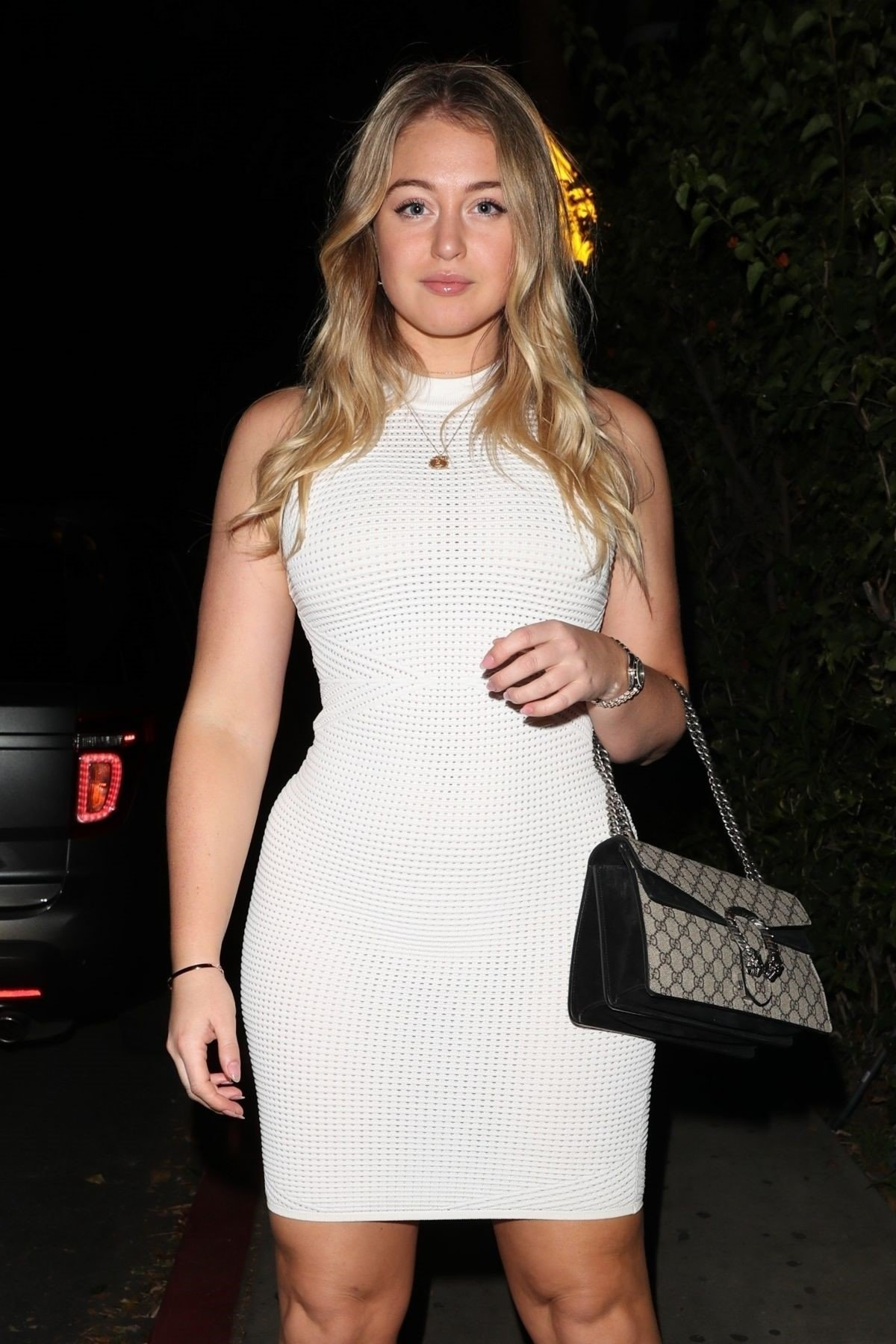 Iskra Lawrence White Dress