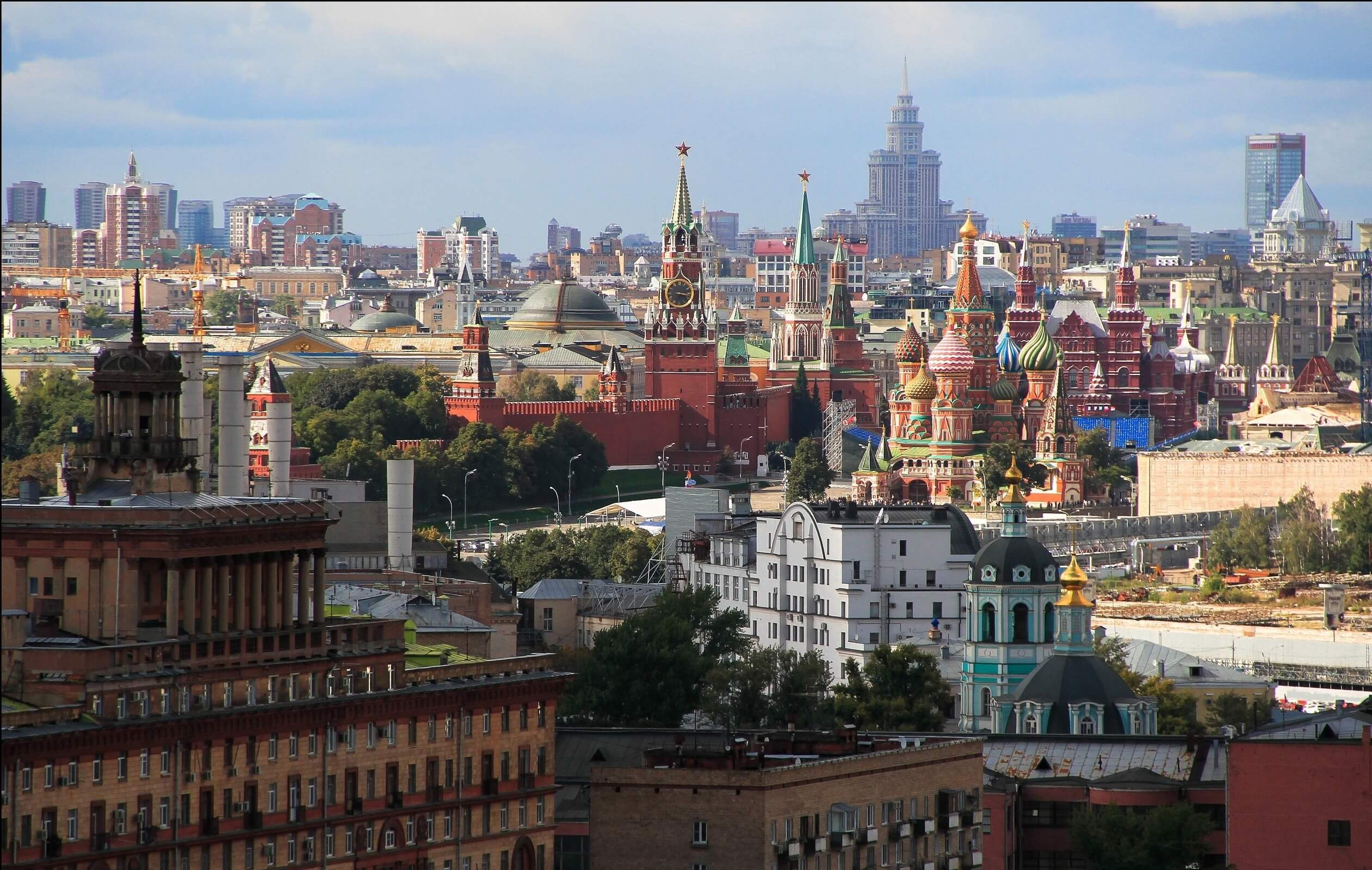 Moscow Computer Wallpapers