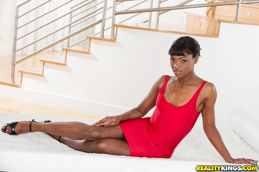 Ana Foxxx Red Dress