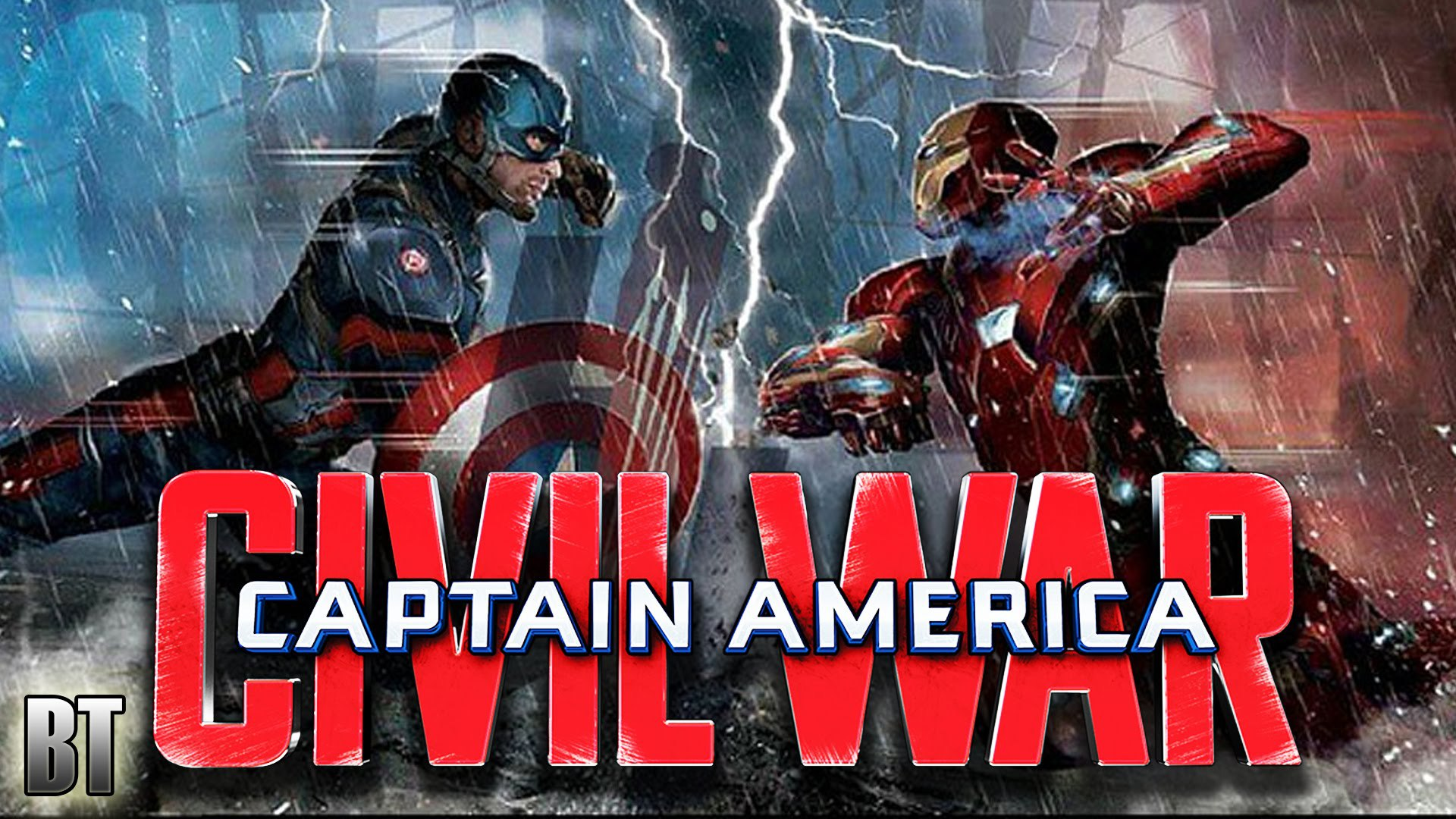 Captain America Civil War Laptop Wallpapers