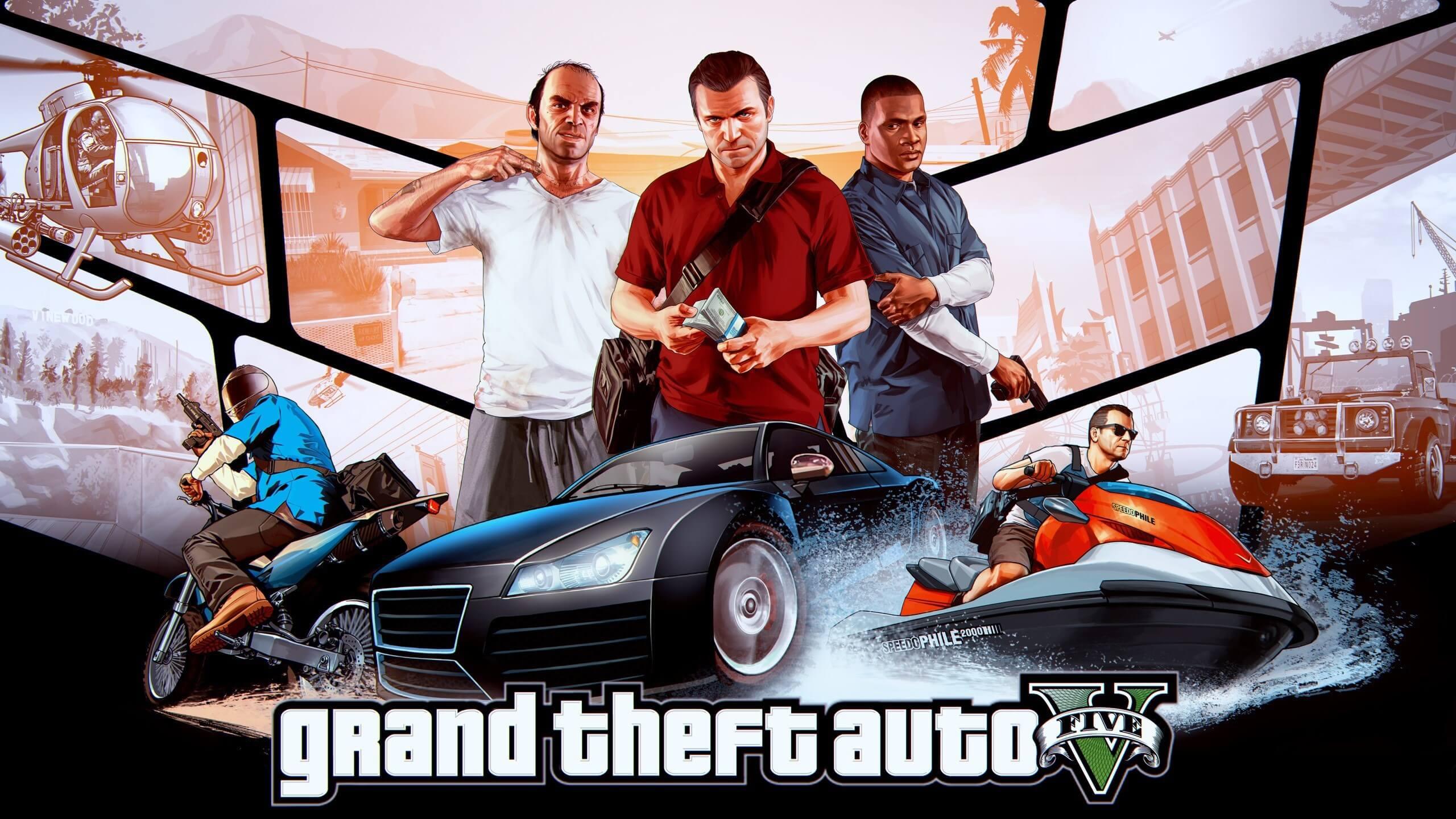 Grand Theft Auto V HD