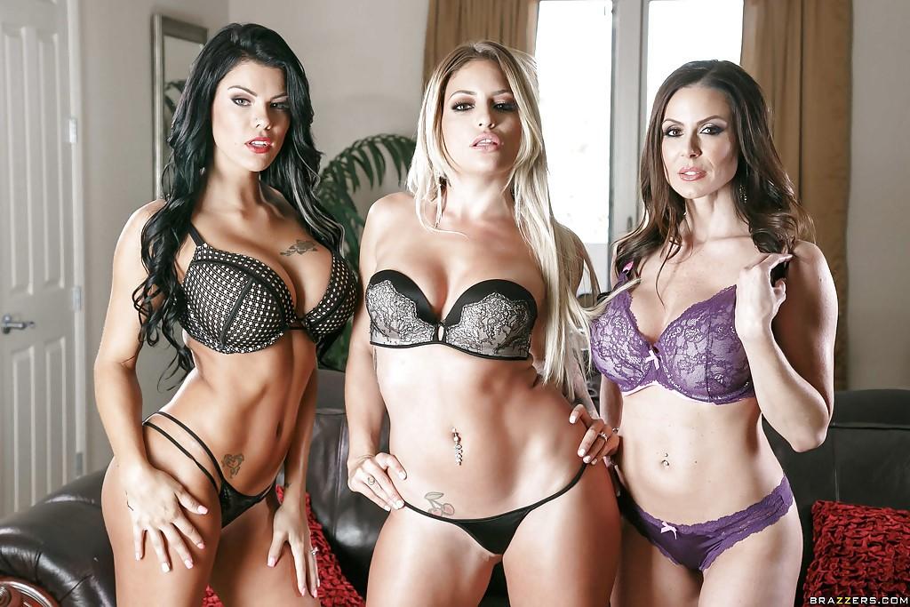 Peta Jensen, Kissa Sins and Kendra Lust