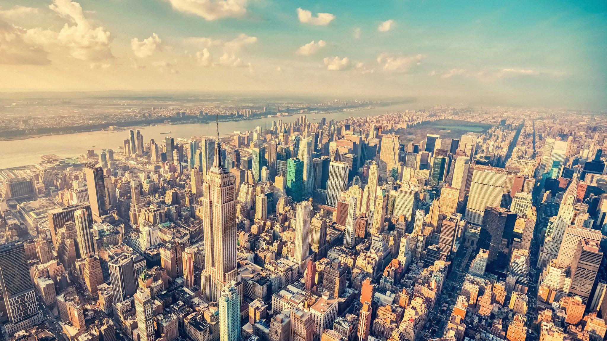 New York Background image