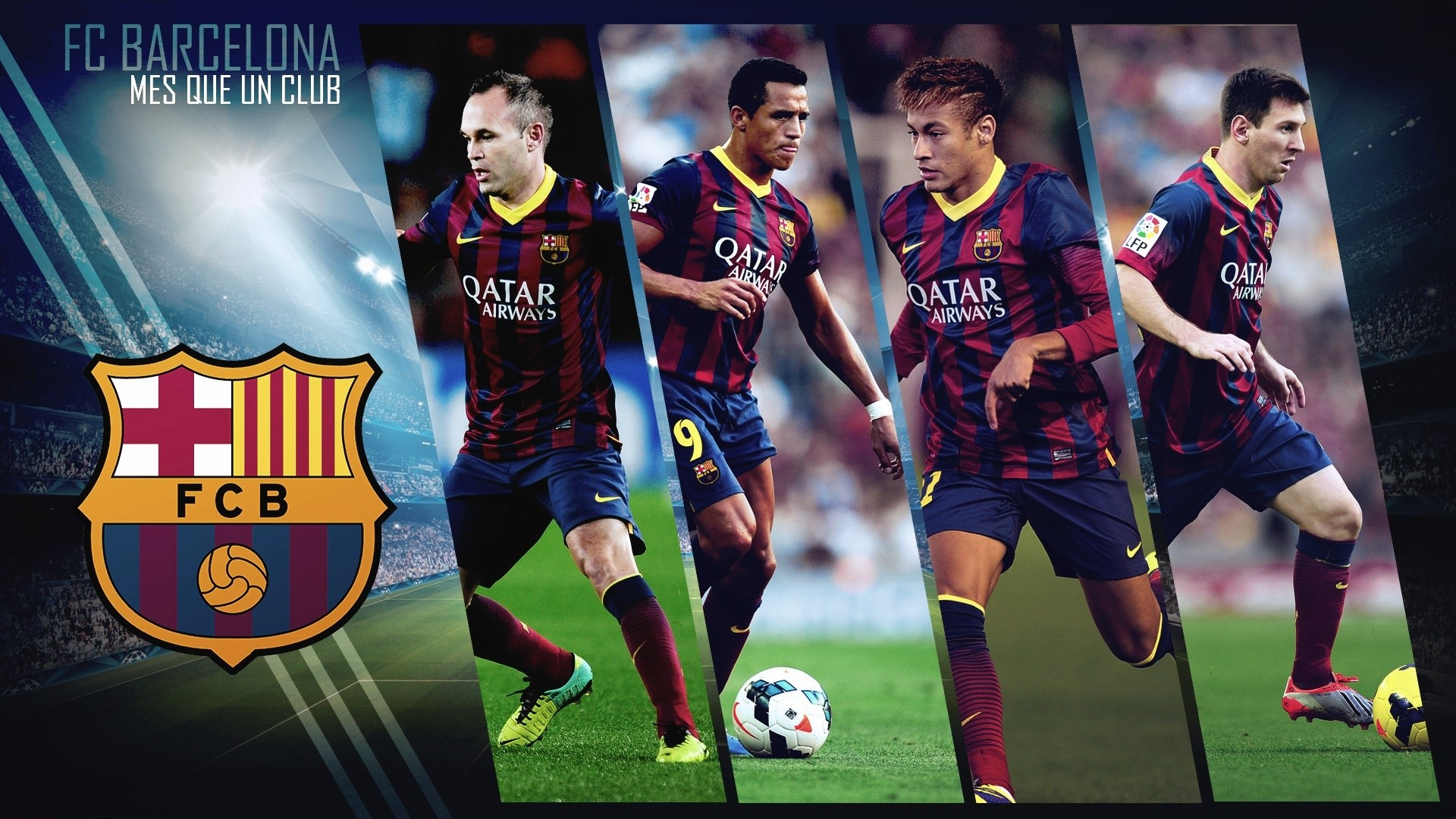 FC Barcelona Desktop Wallpapers