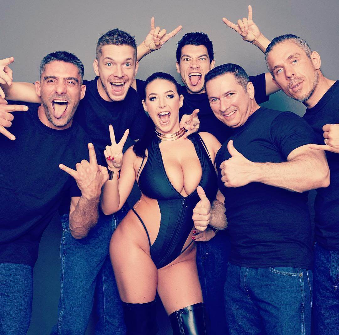 Angela White and her Boyfriends