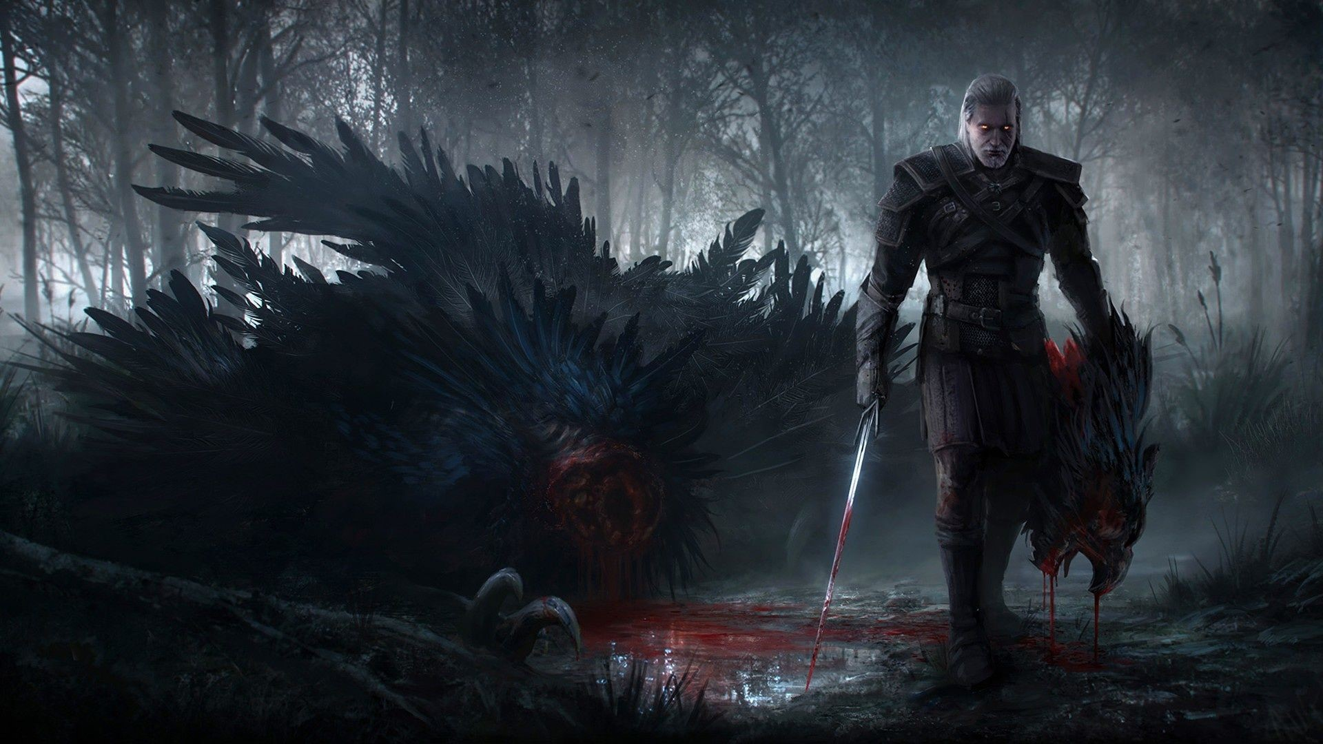 The Witcher 3 Wild Hunt Background image