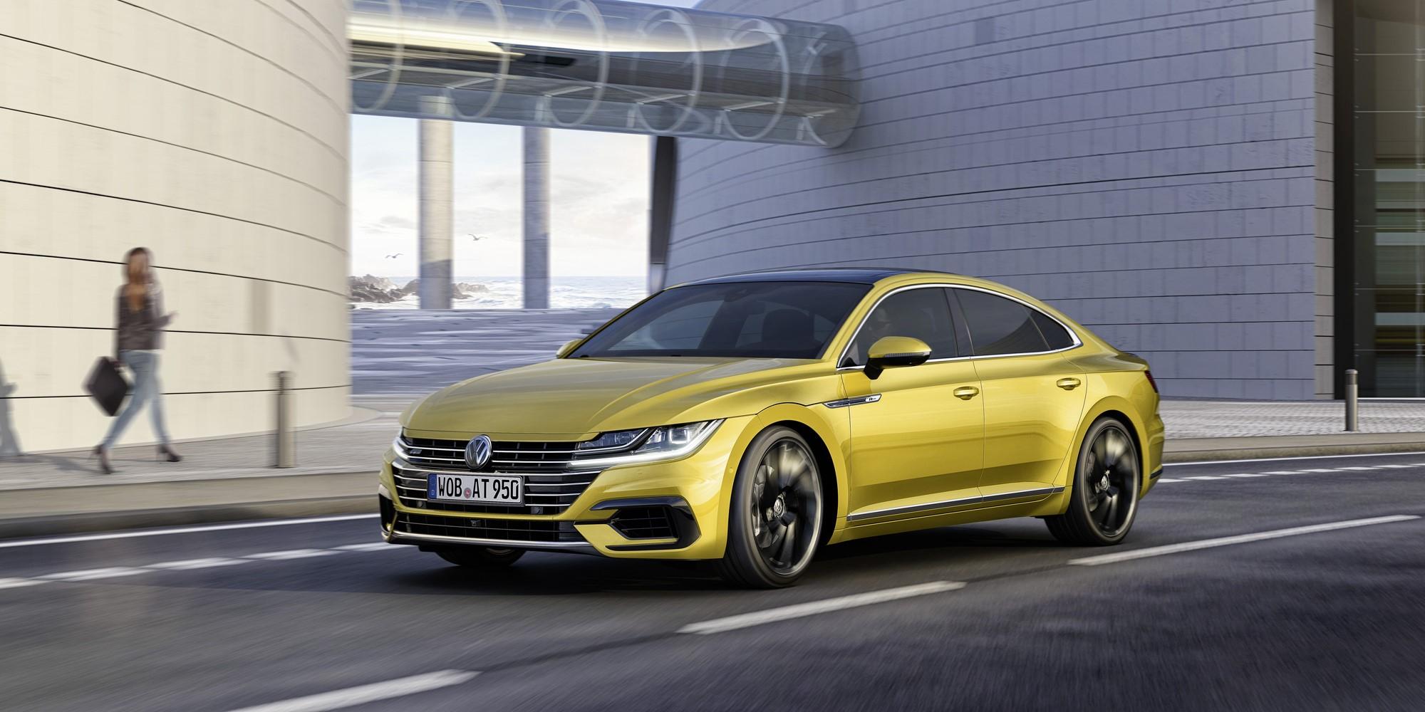 Volkswagen Arteon Photos