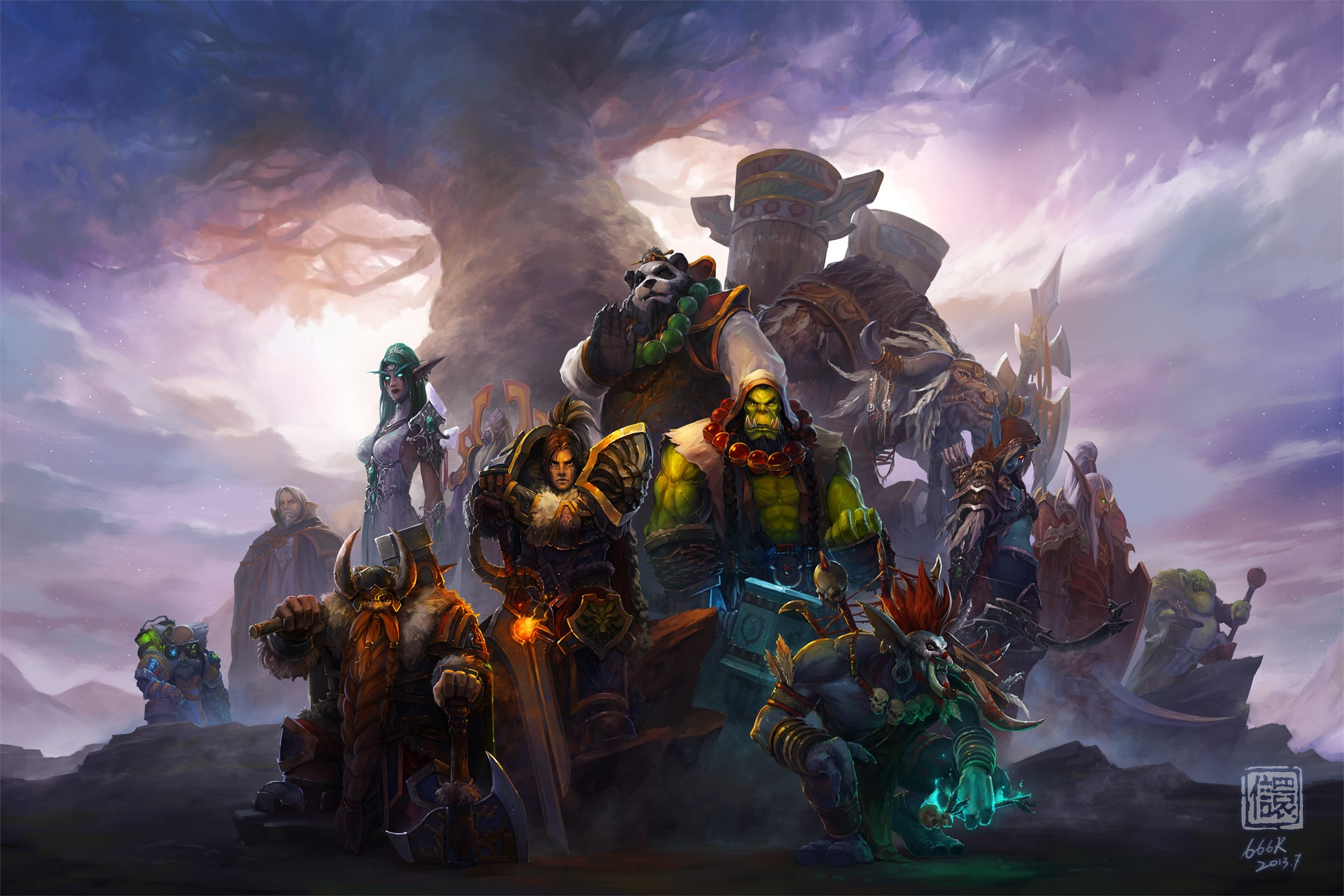 World of Warcraft Wallpapers 4