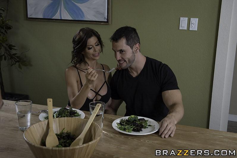 Alexis Fawx and her Boyfriend