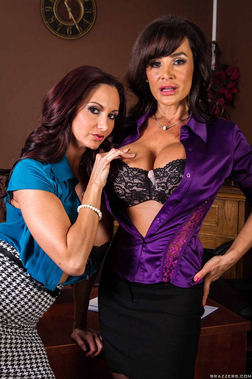 Ava Addams and Lisa Ann