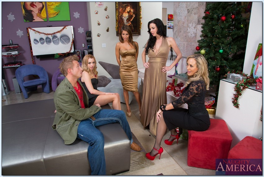 Brandi Love, Lexi Belle, Madison Ivy and Veronica Avluv 2