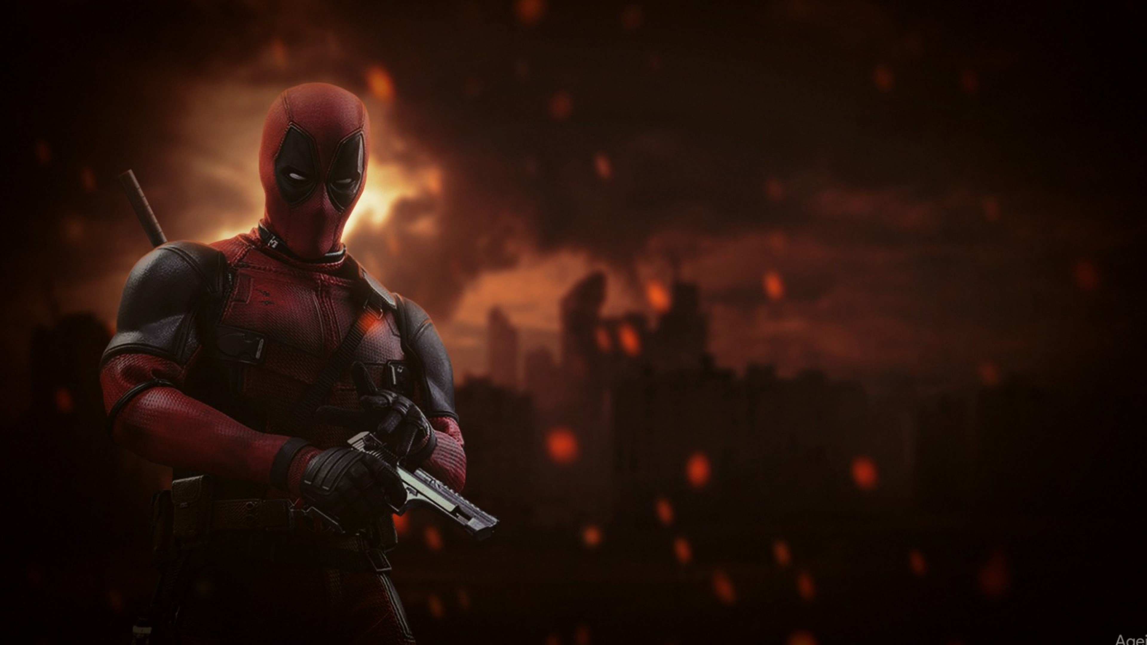 Deadpool Background image