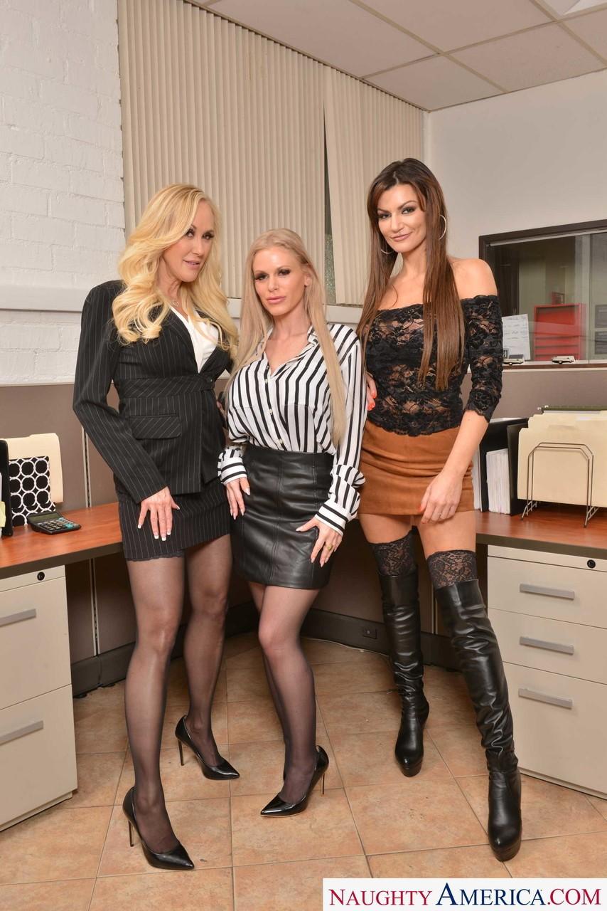 Becky Bandini, Brandi Love and Casca Akashova