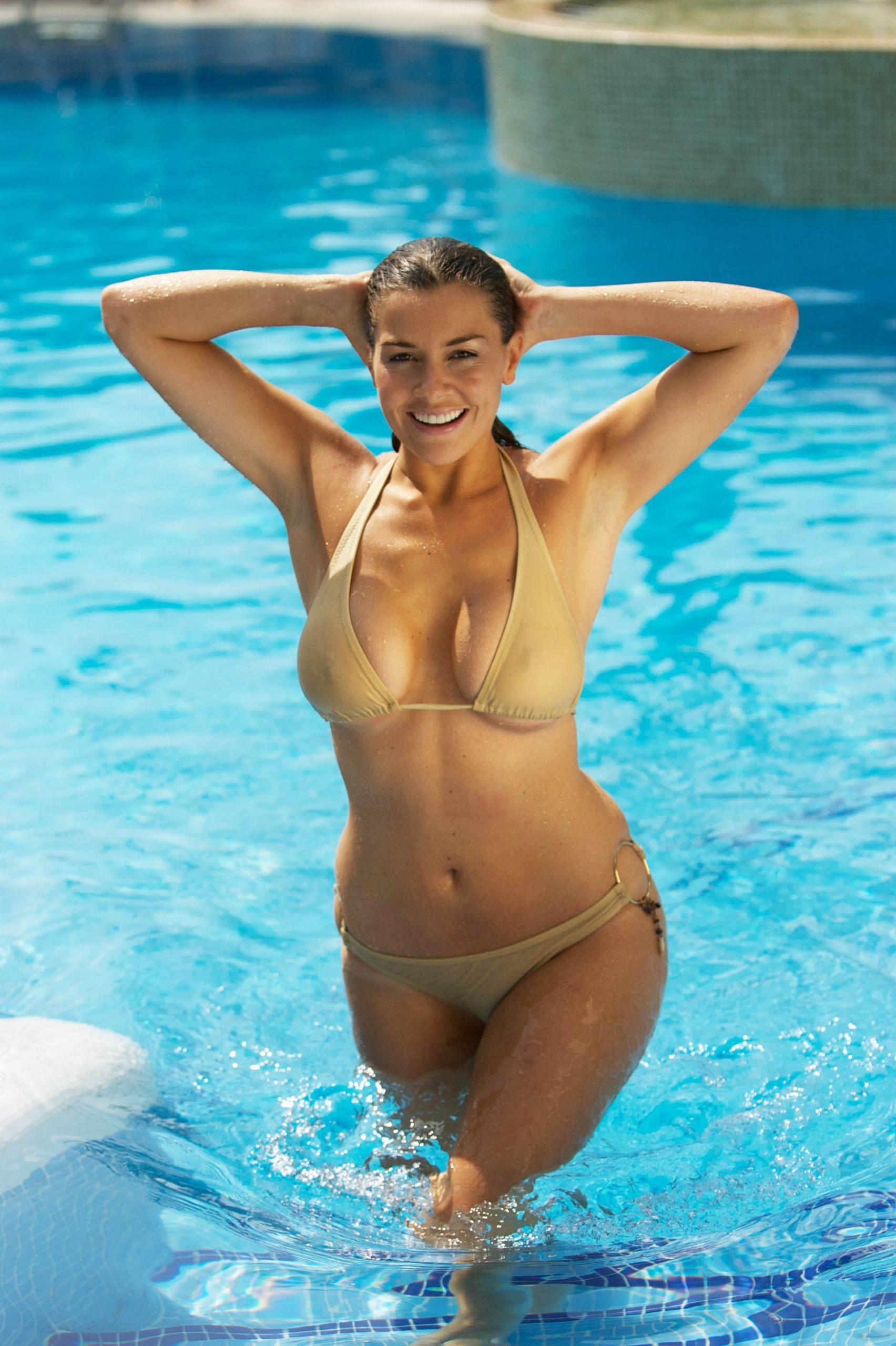 Imogen Thomas Bikini