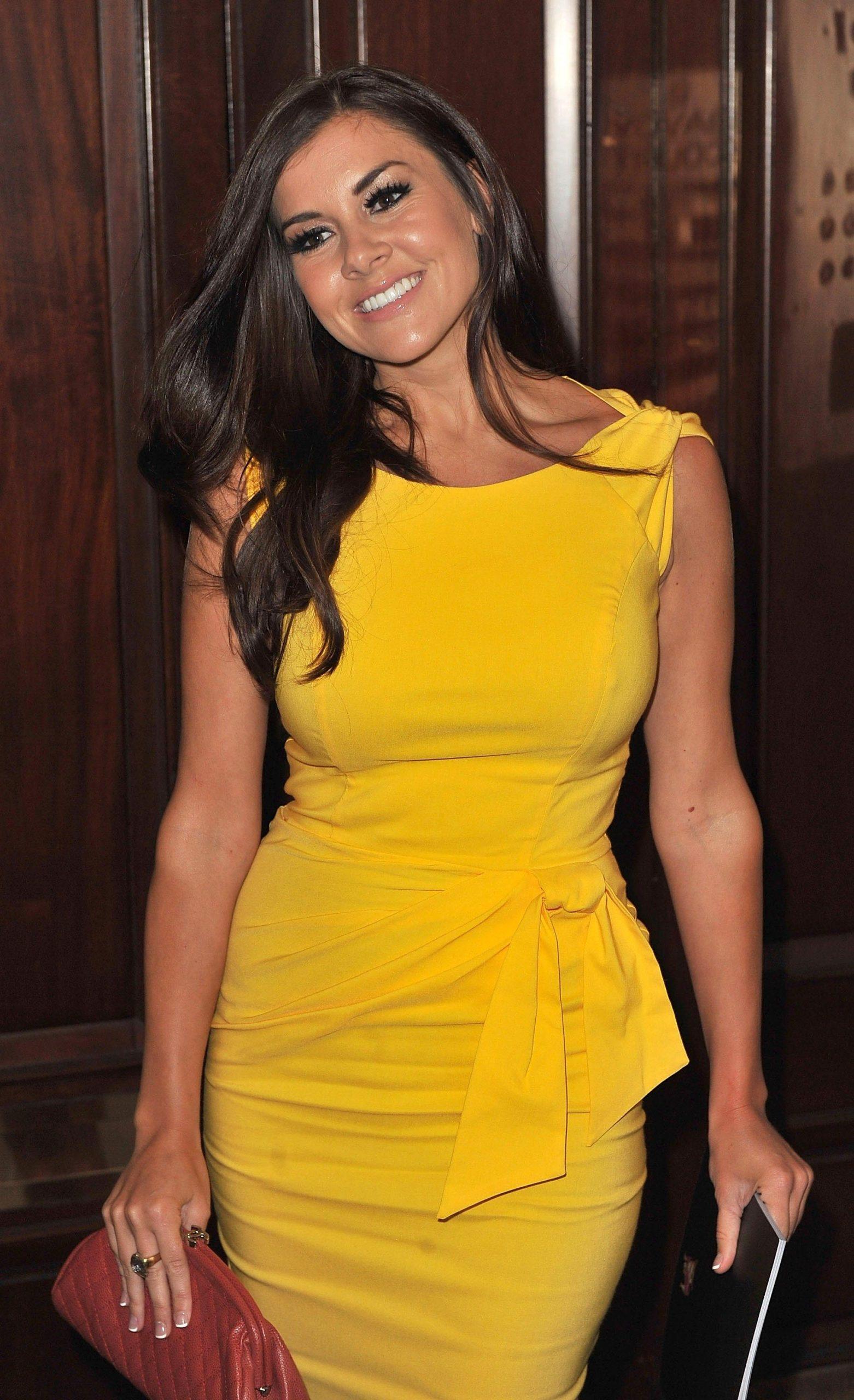 Imogen Thomas Yellow Dress