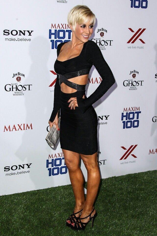 Kellie Pickler Black Dress