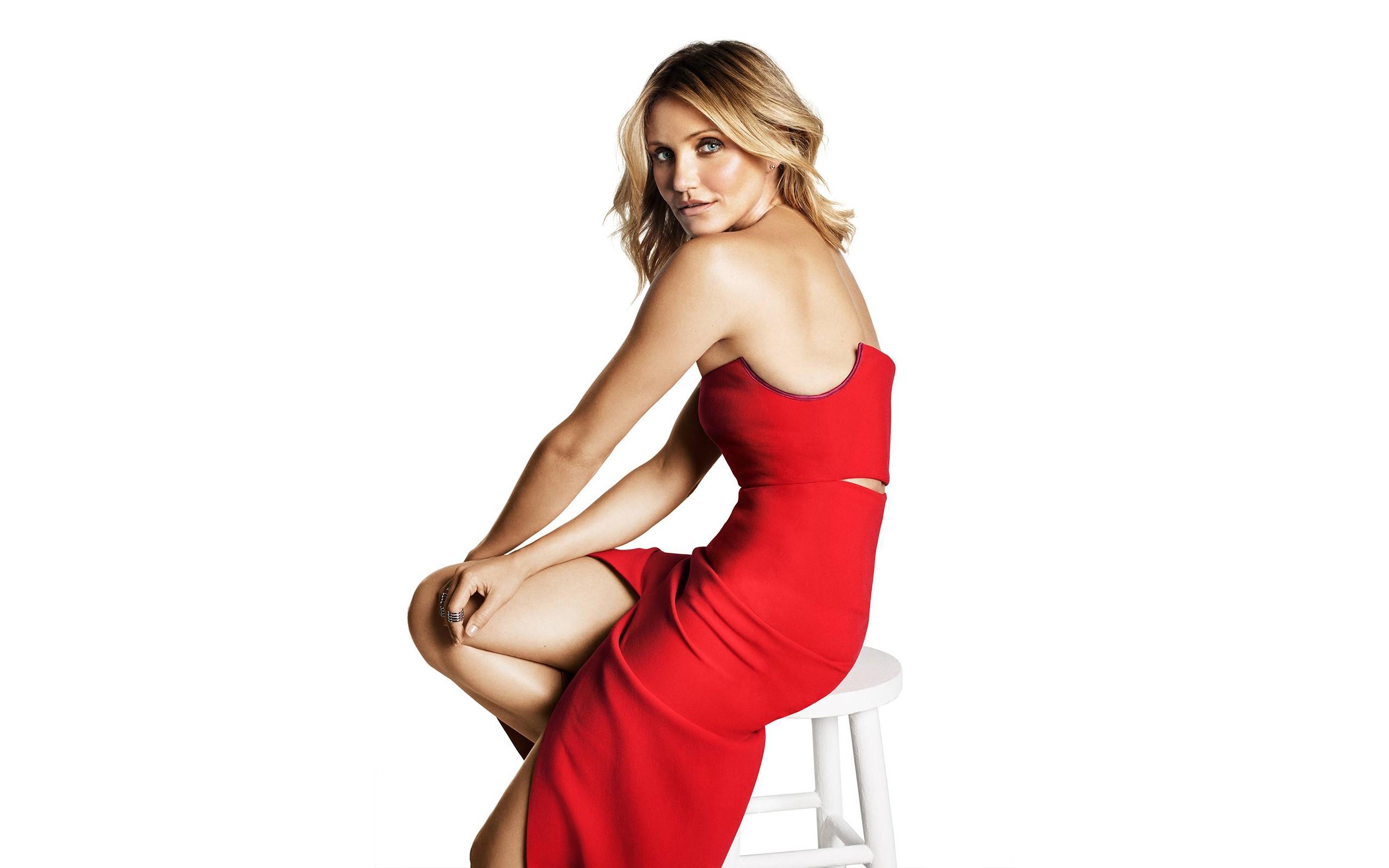 Cameron Diaz Red Dress