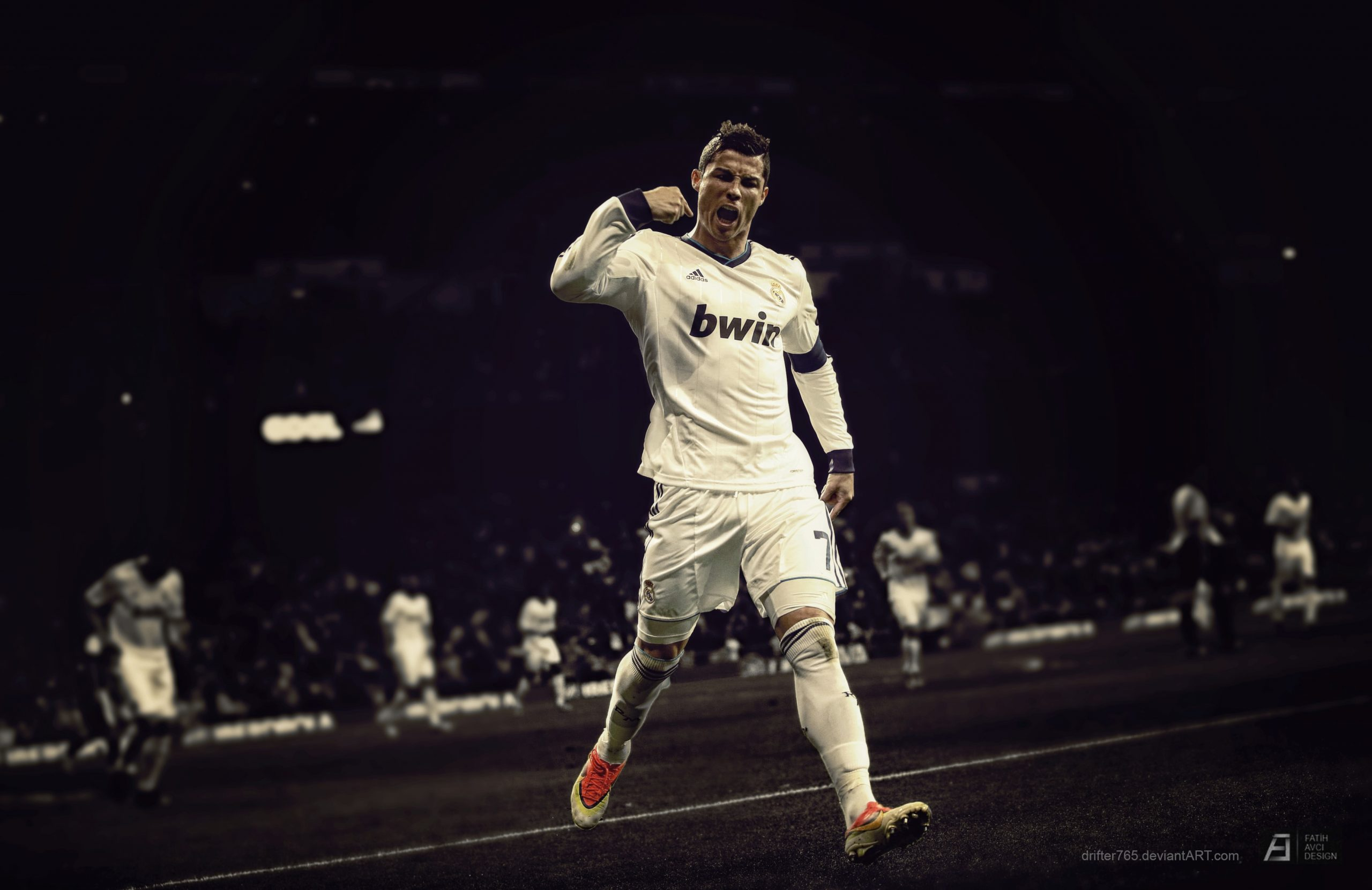Cristiano Ronaldo Laptop Wallpapers