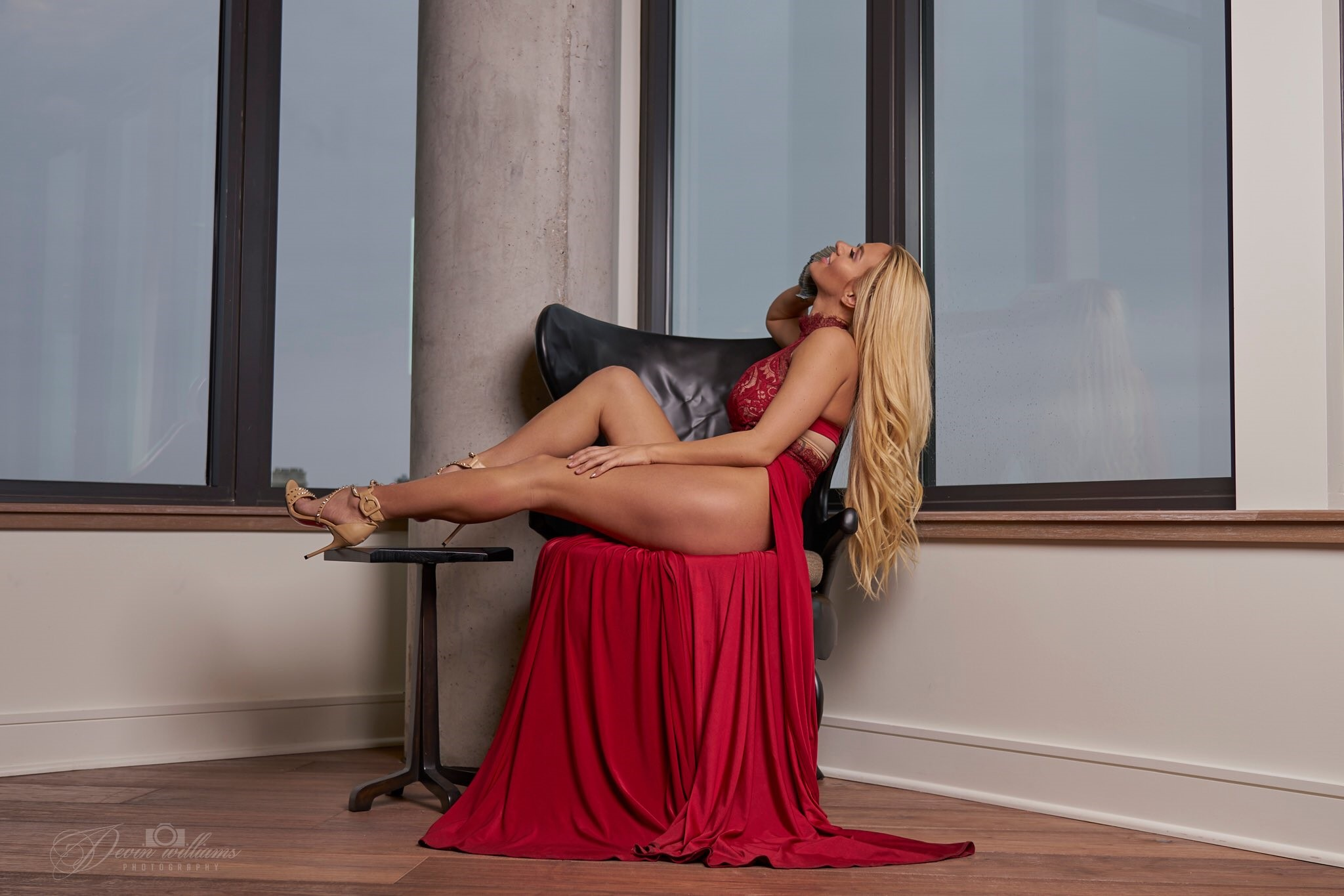 Kindly Myers Red Dress Photos