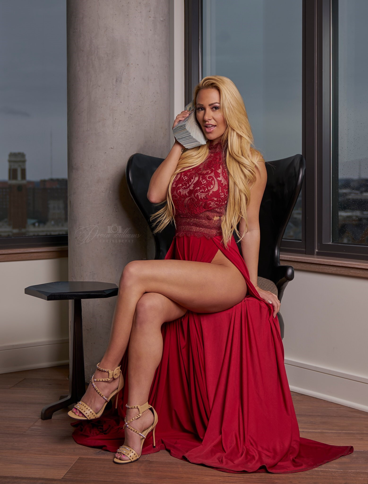 Kindly Myers Red Dress