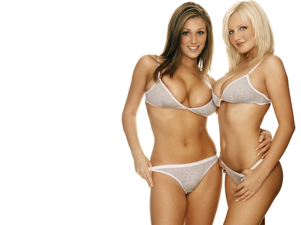 Michelle Marsh and Lucy Pinder 2