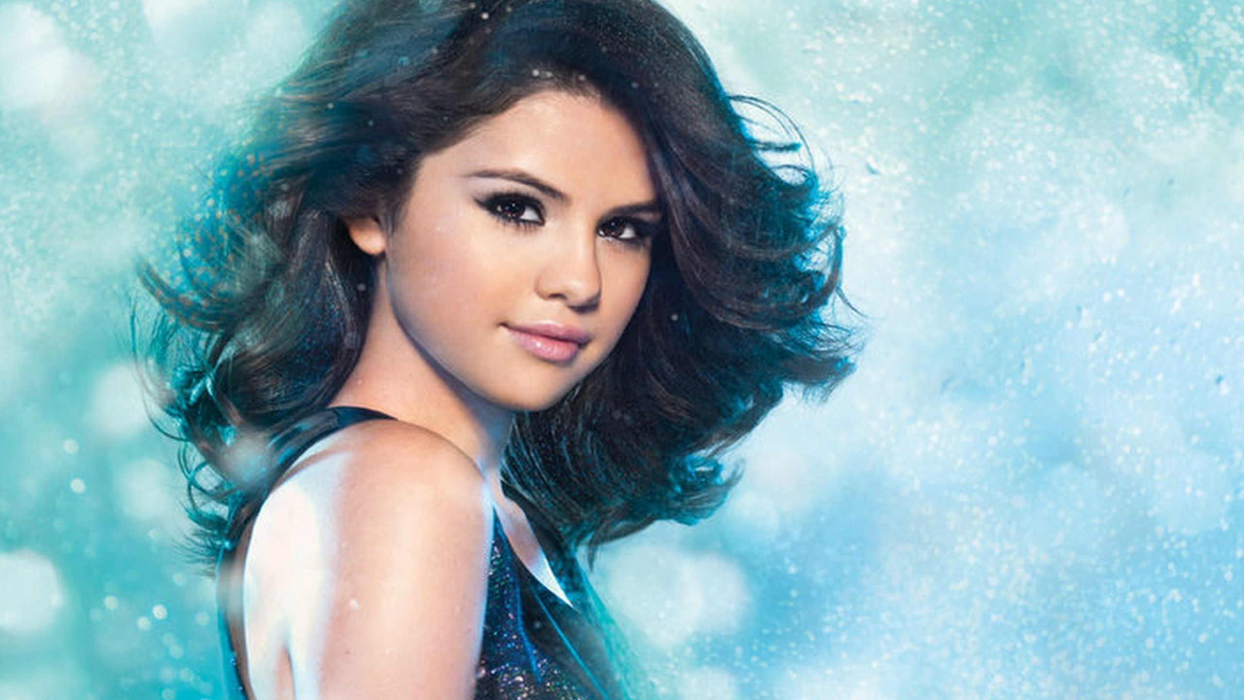 Selena Gomez Background Wallpaper
